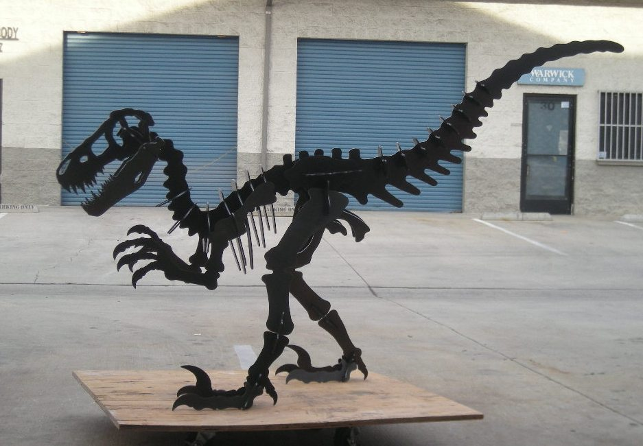 Dinosaur Puzzle Step By Step